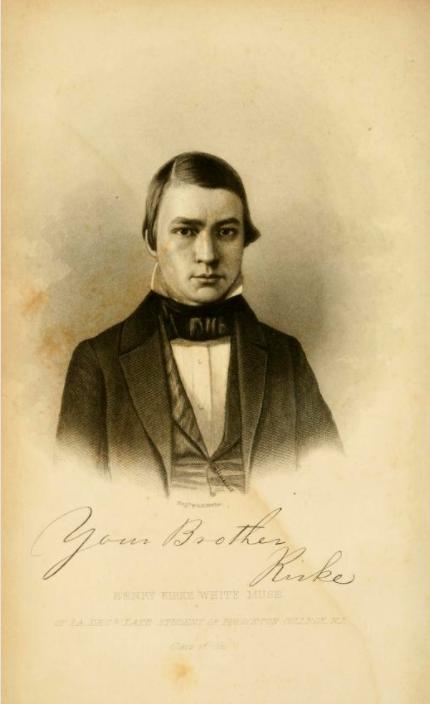 Henry Kirke White Muse