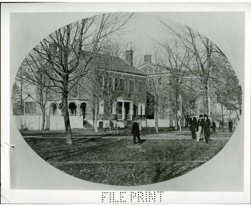 Joseph Henrys Home In Princeton New Jersey Where From 1832 1846 He Taught Natural Philosophy Or Physics At The College Of New Jersey