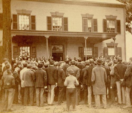 Mc Cosh Inauguration 1868 Box Ad65 1
