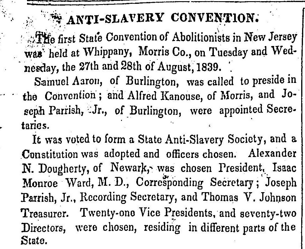 """Anti-Slavery Convention"""