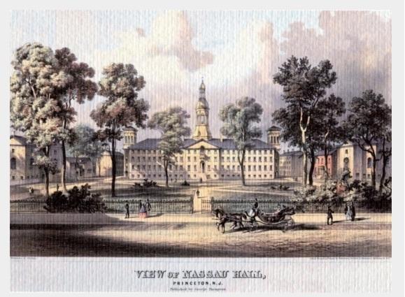 Nassau Hall ca. 1860