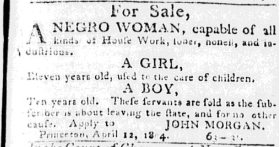 Woman, Girl, and Boy for sale in Princeton