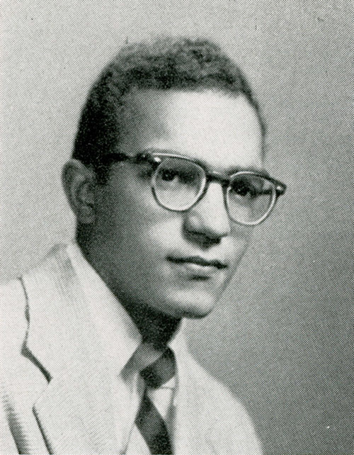 Robert Joseph Rivers in 1953