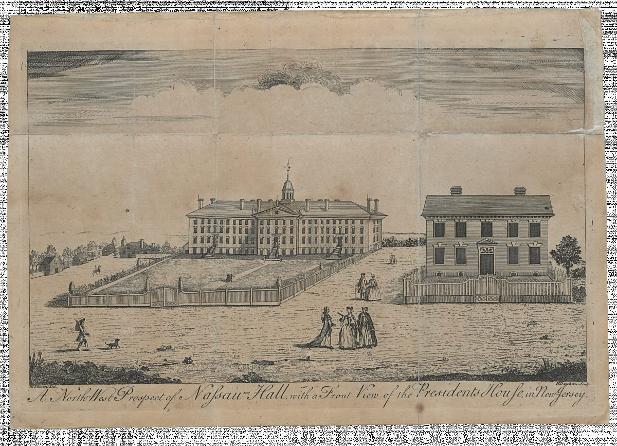 Nassau Hall In 1764