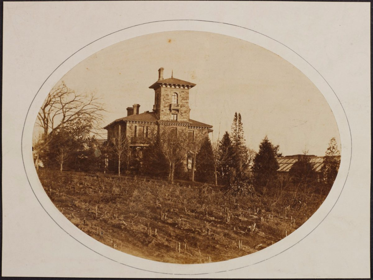 Prospect House in 1863
