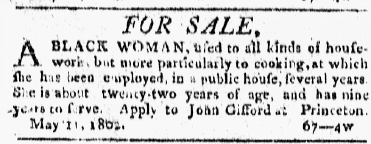 """""""Black Woman"""" to be sold by John Gifford"""