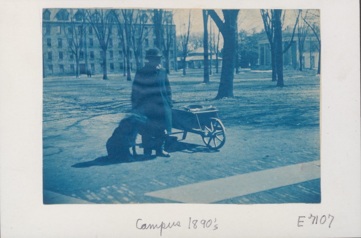 James C. Johnson on Cannon Green