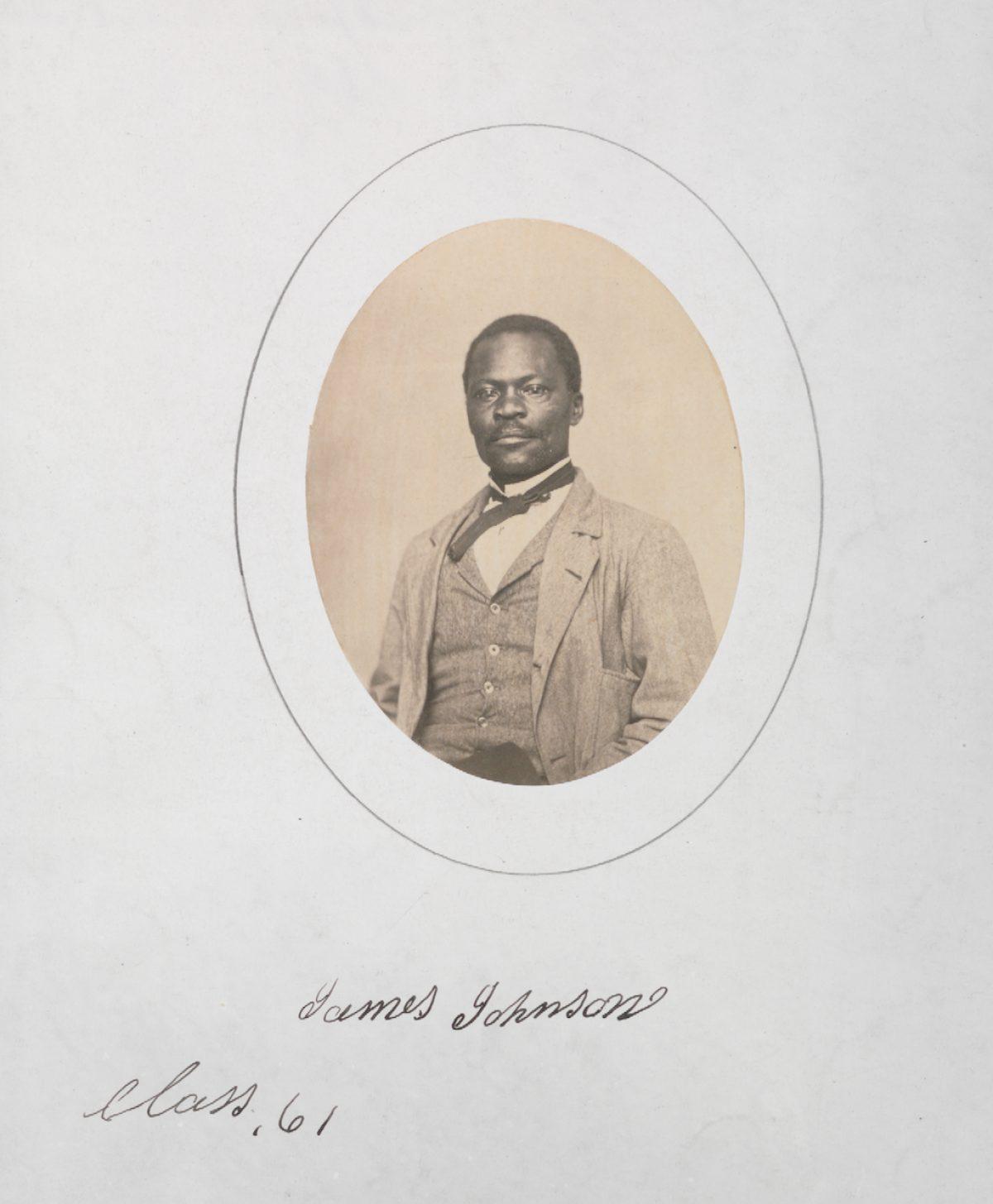 James C. Johnson circa 1861