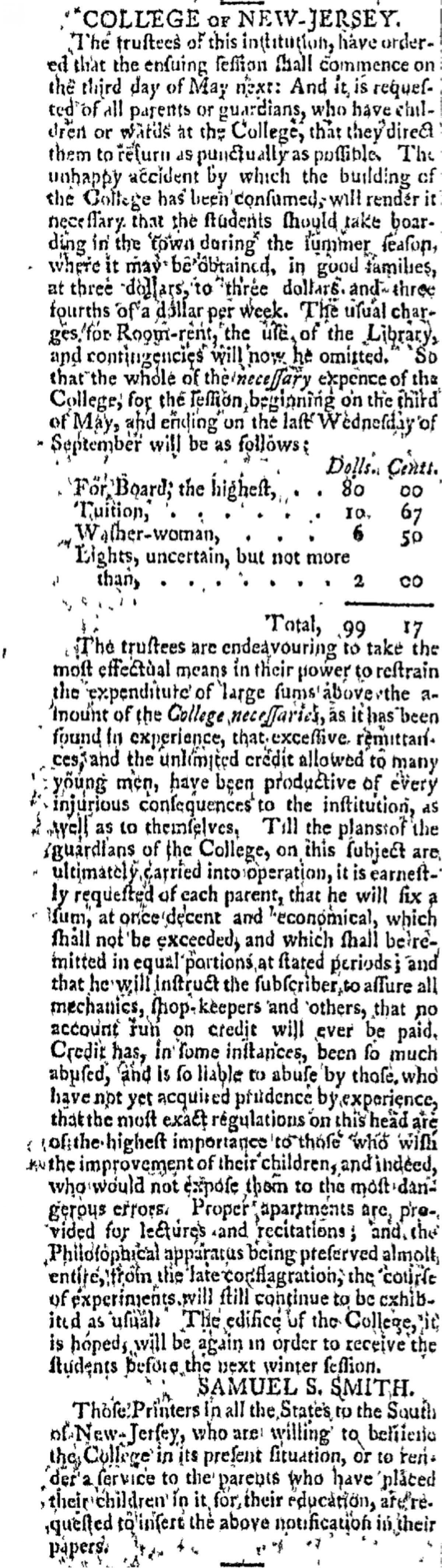 1802 Trustee Announcement