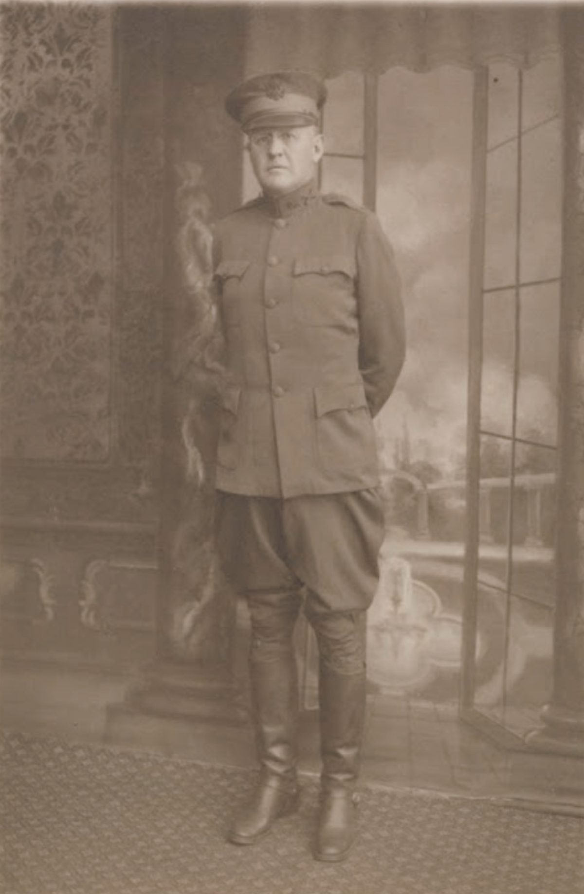 Garrett Cochran in uniform