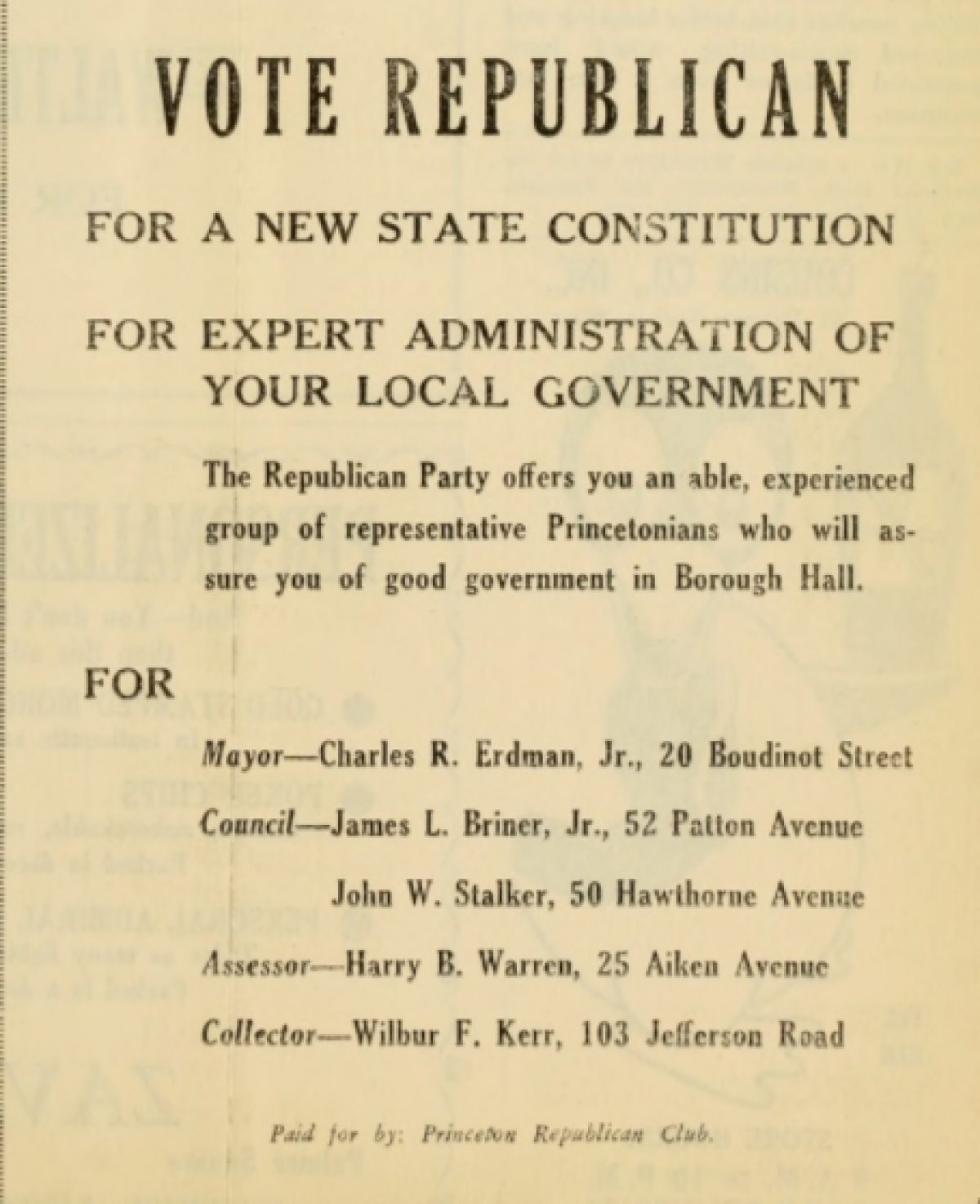 Town Topics 2 November 1947