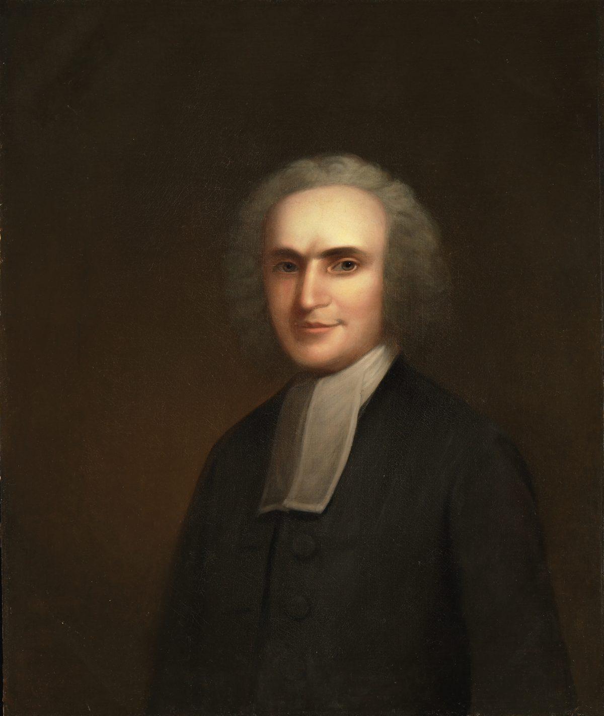 Aaron Burr Sr Portrait
