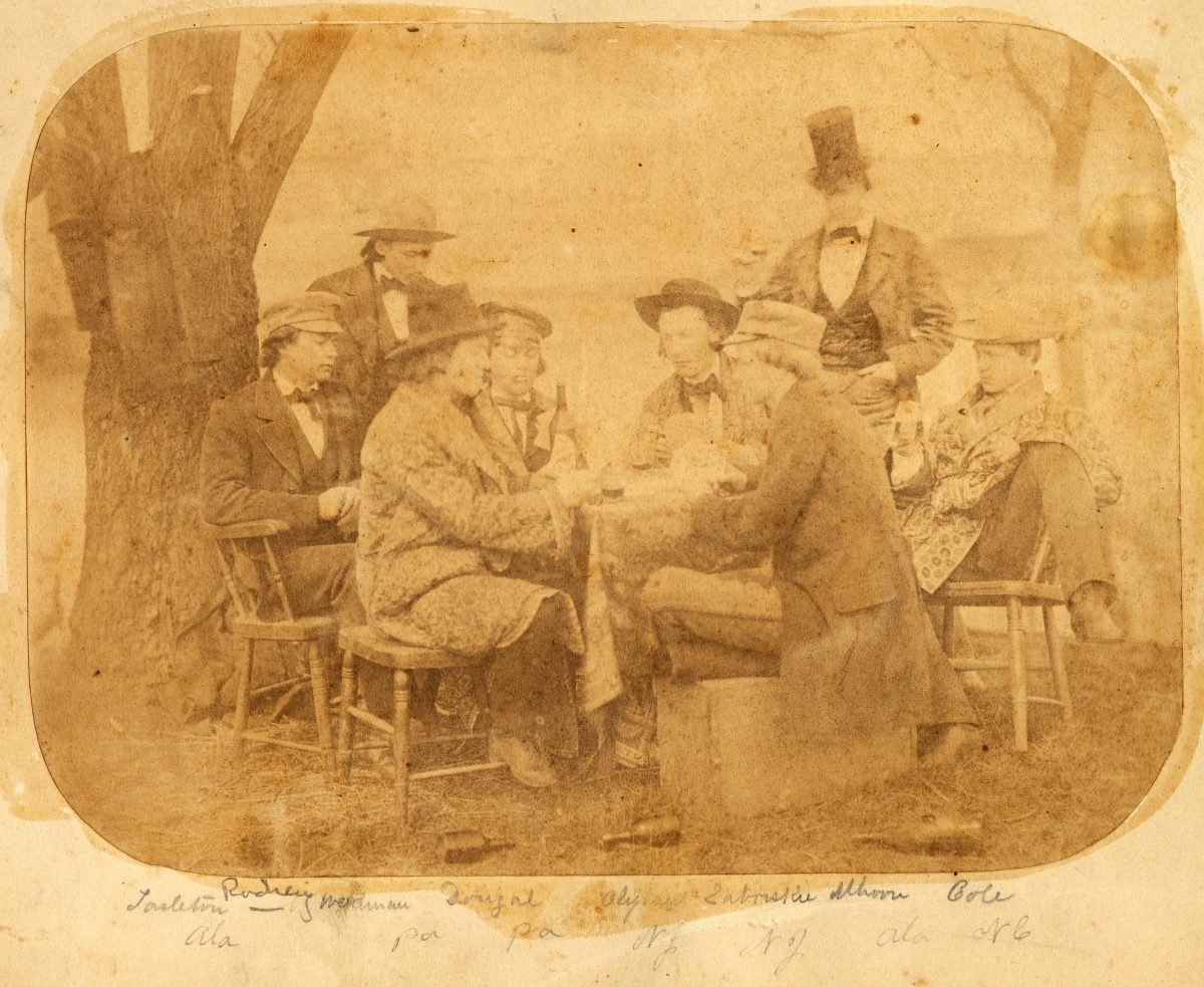 Card Playing 1858 Mudd Library