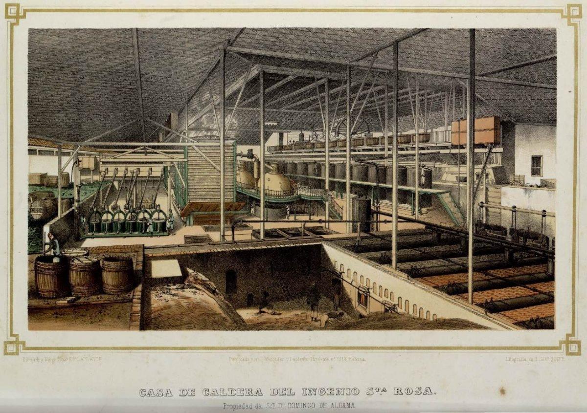 Casa De Caldera Del Ingenio Sta  Rosa