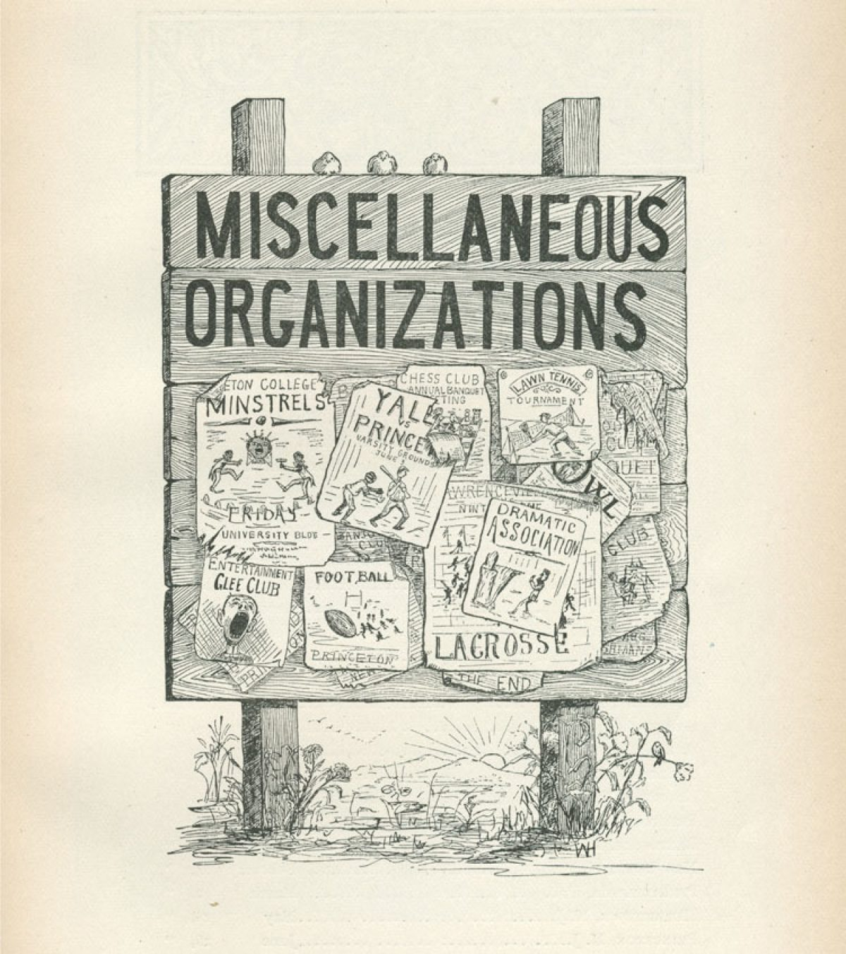 """Miscellaneous Organizations"""