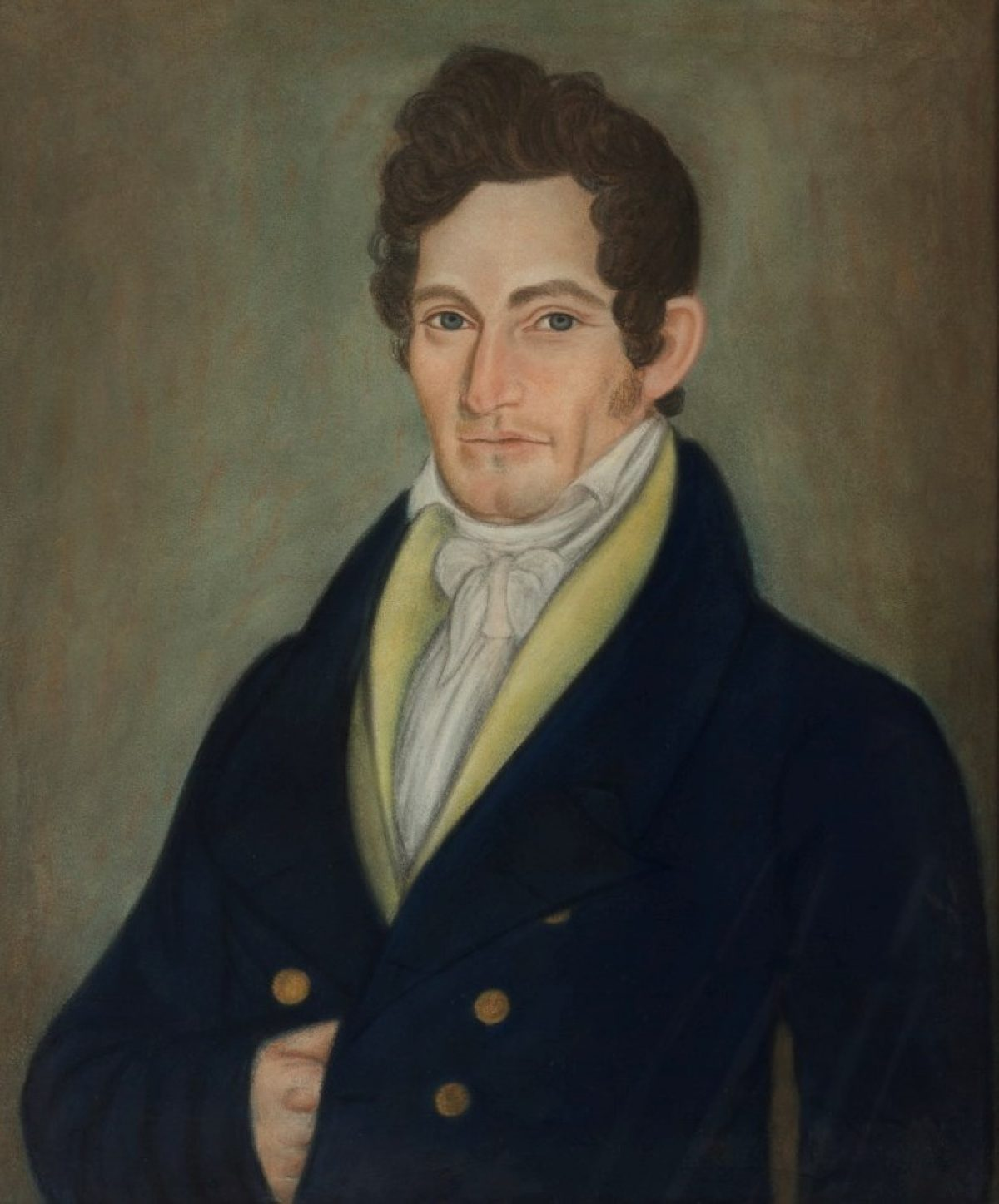 Portrait Of Robert Field Stockton