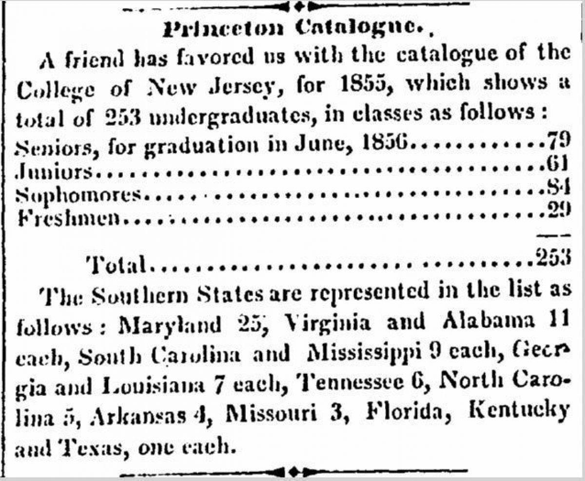 Princeton Catalogue