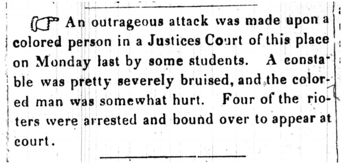Princeton Whig Outrageous Attack June 26 1846