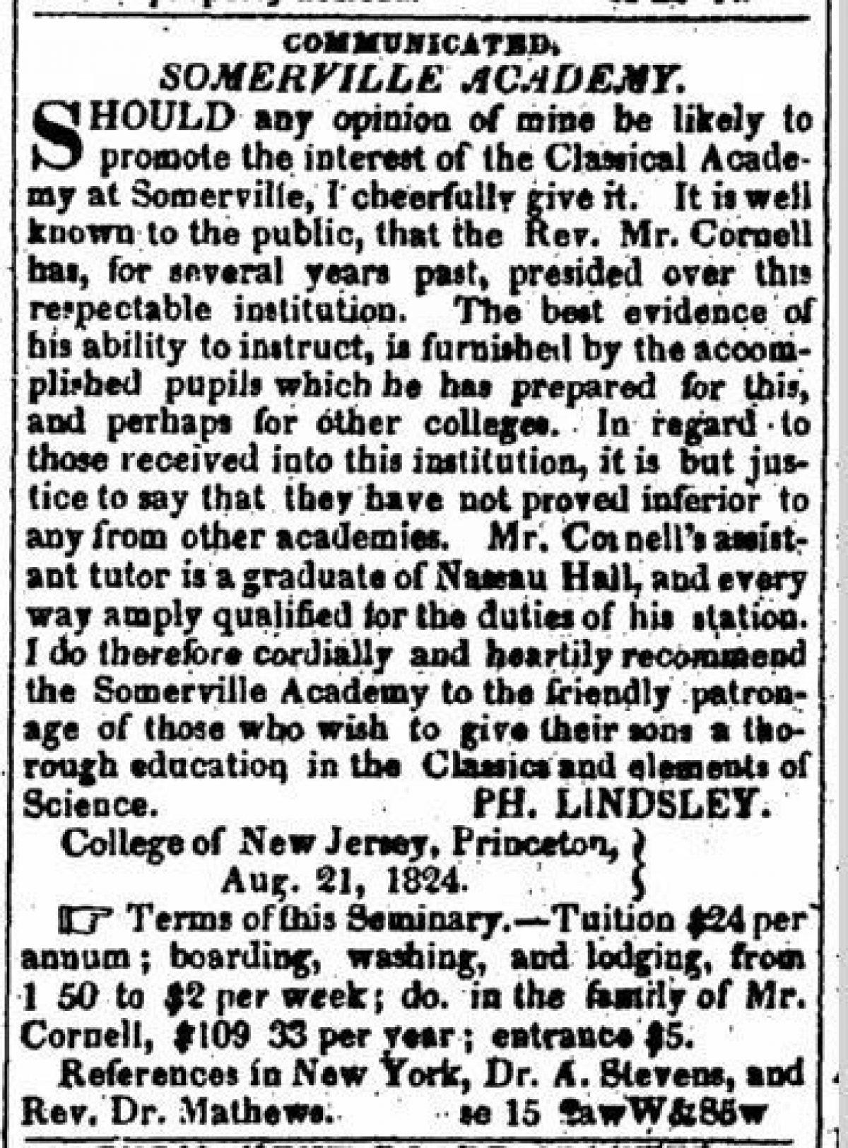 """""""Somerville Academy"""""""
