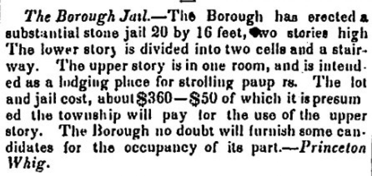 """The Borough Jail"""
