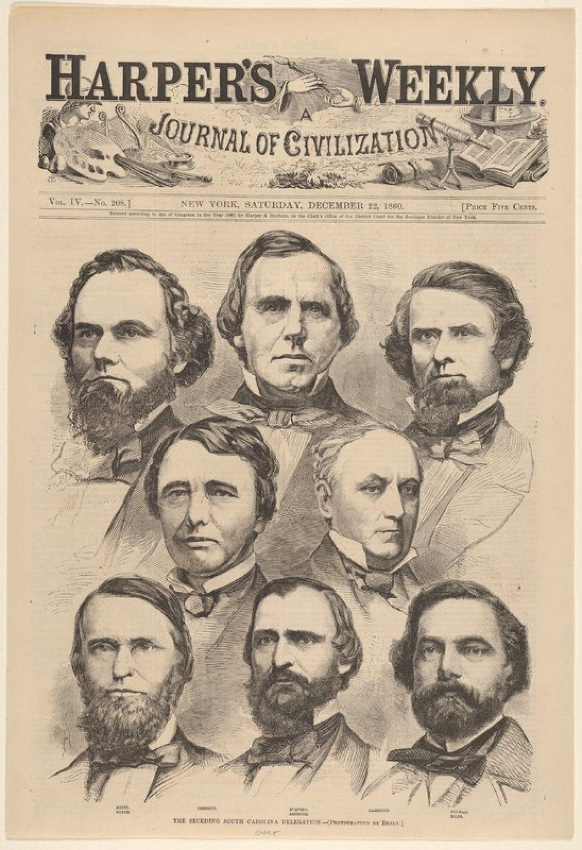 """The Seceding South Carolina Delegation"""