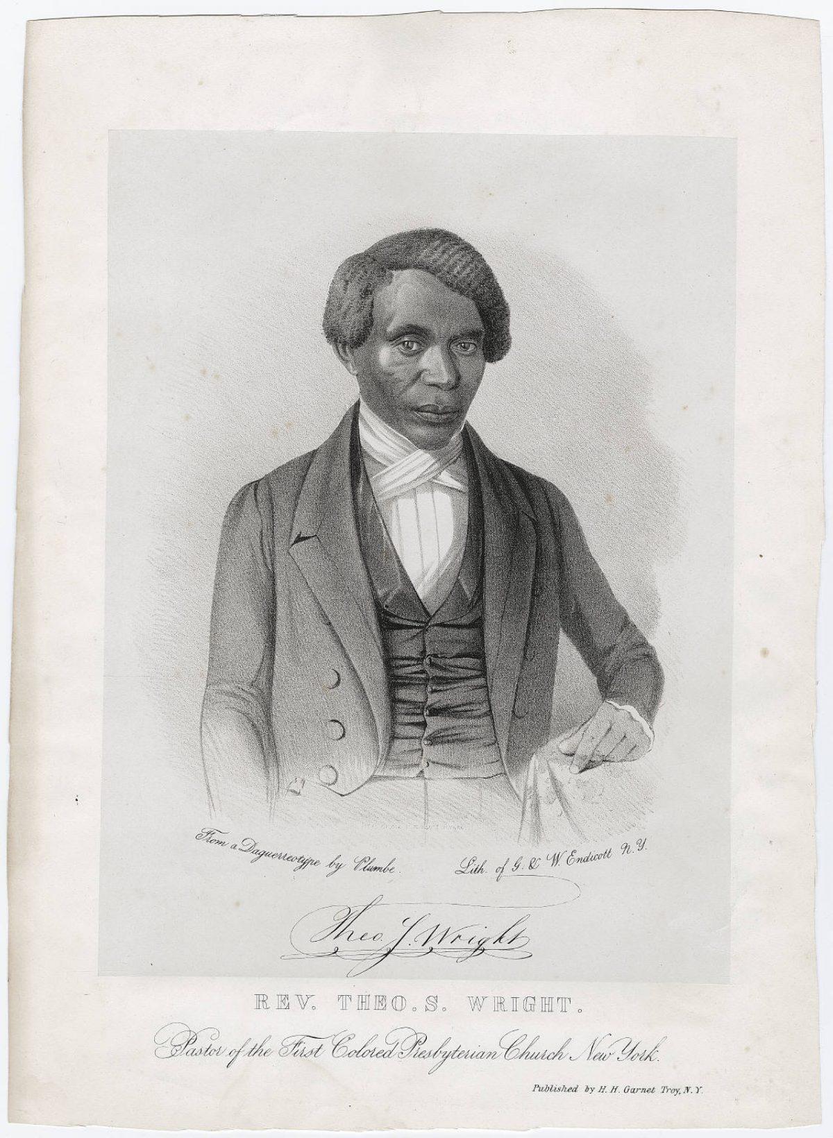 Theodore S  Wright
