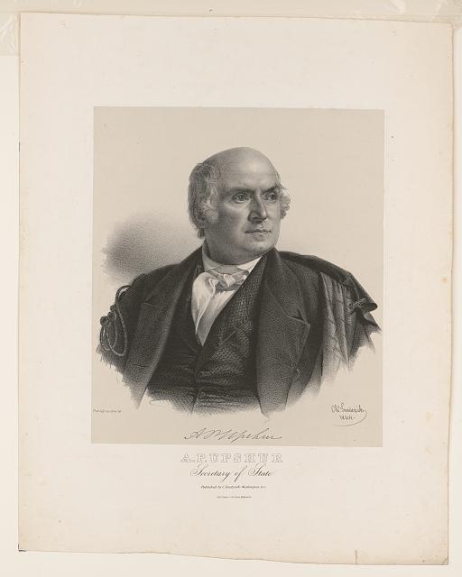 Abel Upshur Print