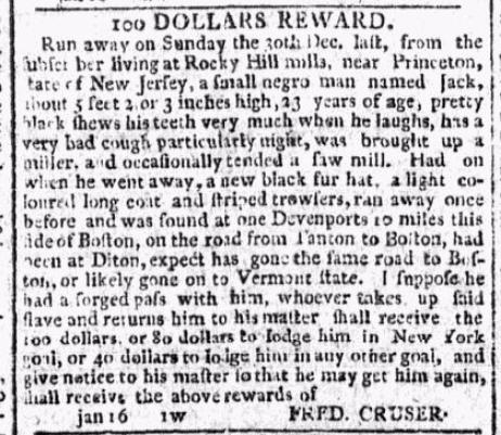 """""""100 Dollars Reward"""" for Jack"""