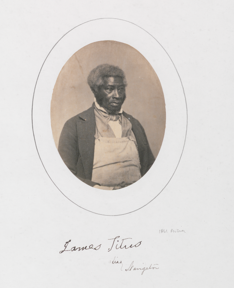 """James Titus (""""Navigator"""")"""