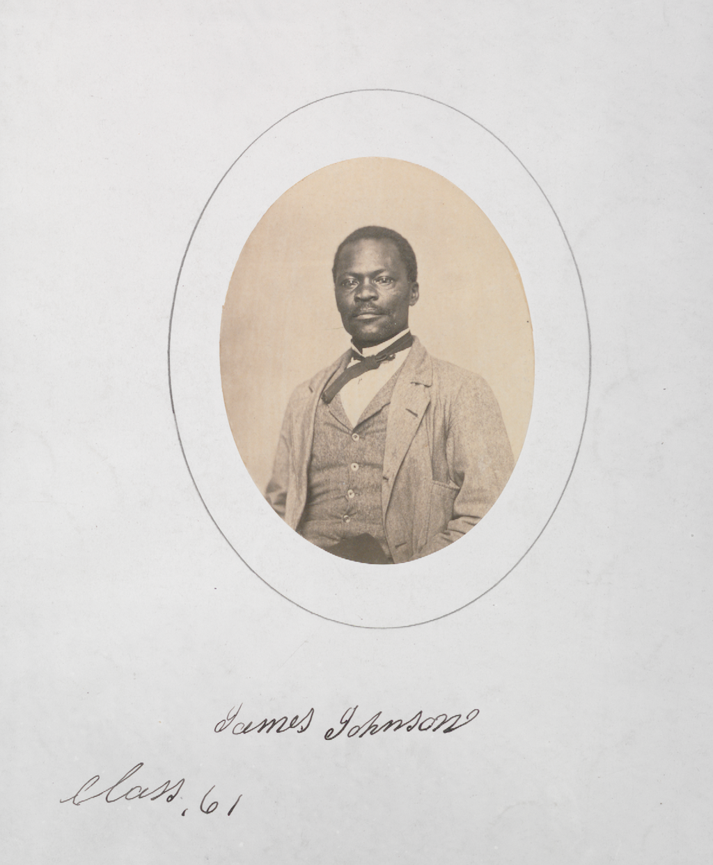 James C. Johnson circa 1861