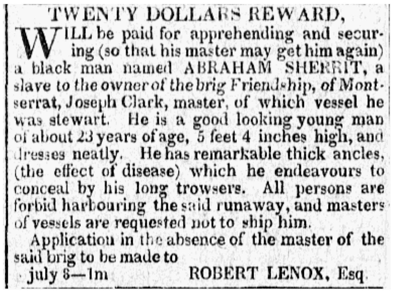 Lenox Sherrit Runaway Ad