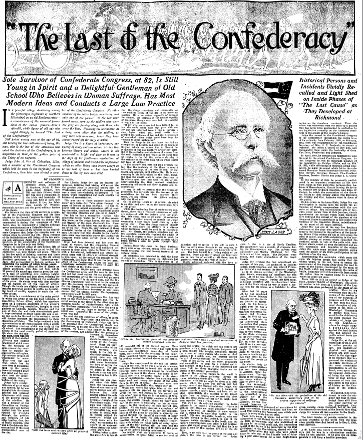 """The Last of the Confederacy"""